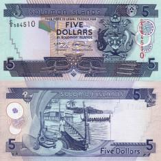 INSULELE SOLOMON 5 dollars 2006 UNC!!!