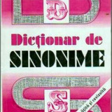 DICTIONAR DE SINONIME DE GH.BULGAR,EDITIE INBOGATITA SI REVIZUITA,EDITURA LUCMAN