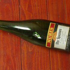 Sticla veche din perioada comunista - eticheta originala - Vin spumos Mures 750ml !!!