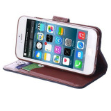 "Husa iPhone 6 6s 4.7"" + folie protectie display + stylus, iPhone 6/6S, Negru, Alt material, Apple"