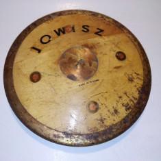 Disc atletism 1, 5 kg, Jowisz, fabricat in Polonia