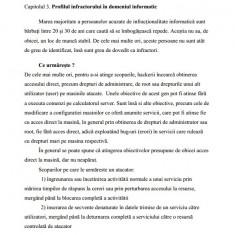 Lucrare de licenta - Drept / Criminalistica: INVESTIGAREA CRIMINALISTICĂ A INFRACȚIUNILOR INFORMATICE