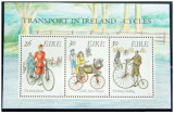 IRLANDA 1991 ciclism  colita nestampilata dantelata