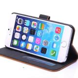 "Husa iPhone 6 6s 4.7"" + folie protectie display + stylus, iPhone 6/6S, Maro, Alt material, Apple"