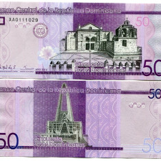 REPUBLICA DOMINICANA- 50 PESOS 2014- NEW- UNC!!