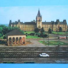 HOPCT14222 ROMANIA IASI -PALATUL CULTURII SI CASA DOSOFTEI - [ CIRCULATA] - Carte Postala Moldova dupa 1918