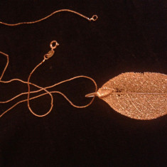 Lant si pandantiv - Lantisor placate cu aur, Femei