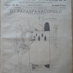 Moftul roman , revista spiritista nationala ; Dir. I. L. Caragiale ,nr. 22, 1893