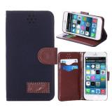 "Husa iPhone 6 4.7"" + folie protectie display + stylus, iPhone 6/6S, Negru, Alt material, Apple"