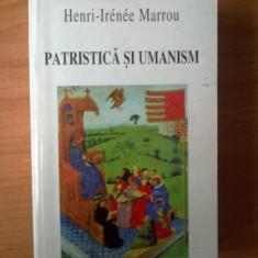 D4 Patristica si umanism - Henri-Irenee Marrou
