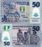 NIGERIA 50 naira 2010 polymer COMEMORATIVA UNC!!!