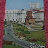 carte postala --- Bucuresti - Piata Palatului - necirculata !!!
