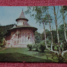Carte postala --- Biserica Voronet - secolul XV - necirculata !!! - Carte Postala Bucovina dupa 1918