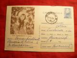 Carte Postala ilustrata - Pictura N.Tonitza - Fata Padurarului , cod 65/66