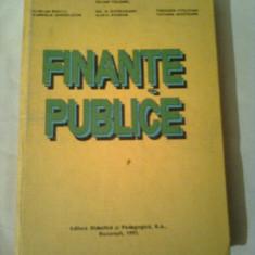 FINANTE PUBLICE ~ IULIAN VACAREL / THEODOR STOLOJAN - Carte despre fiscalitate