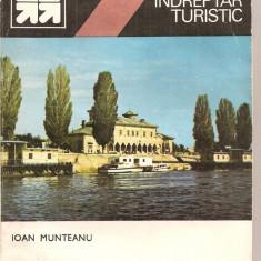 (C5535) MIC INDREPTAR TURISTIC. BRAILA DE IOAN MUNTEANU, EDITURA SPORT-TURISM, 1984 - Ghid de calatorie