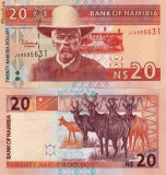 NAMIBIA 20 dollars ND 2002 UNC!!!