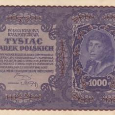 POLONIA 1.000 marek 1919 XF+++/AUNC-!!!