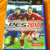 Joc Pro Evolution Soccer PES 2010, PS2, original, alte sute de jocuri!