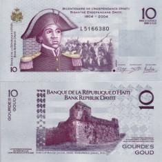 HAITI 10 gourdes 2012 UNC!!! - bancnota america