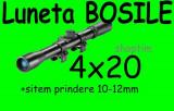 LUNETA metalica airsoft 4X20 + prindere Arma Arbaleta Pusca Pistol