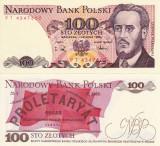 POLONIA 100 zloti 1988 UNC!!!