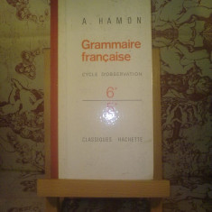 A. Hamon - Grammaire francaise - Roman