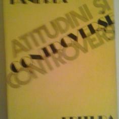 PETRE PANDREA - ATITUDINI SI CONTROVERSE - Roman, Anul publicarii: 1982