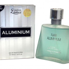 PARFUM CREATION LAMIS ALUMINIUM 100ML EDT/replica AZZARO-CHROME - Parfum barbati Azzaro, Apa de toaleta
