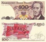 POLONIA 100 zloti 1986 UNC!!!