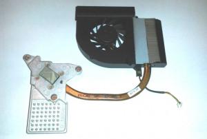 Heatsink + Cooler Compaq Presario CQ61 (532605-001) - TRANSPORT GRATUIT