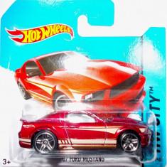HOT WHEELS -REGULAR-SCARA 1/64-FORD MUSTANG GT '07- ++2501 LICITATII !! - Macheta auto