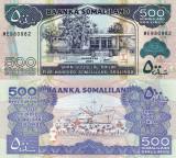 SOMALILAND 500 shillings 2011 UNC!!!