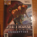 JOC WII METROID PRIME 3 CORRUPTION ORIGINAL PAL / STOC REAL in BUCURESTI / by DARK WADDER
