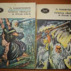 N. KAZANTZAKIS -HRISTOS RASTIGNIT A DOUA OARA. VOL.I-II - Nuvela