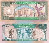 SOMALILAND 5 shillings 1994 UNC!!!