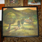 Impresionism vechi - Pictor roman, Peisaje, Ulei