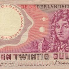 OLANDA 25 gulden 1955 VF!!!