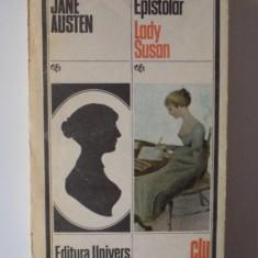 EPISTOLAR LADY SUSAN de JANE AUSTEN, 1991 - Nuvela