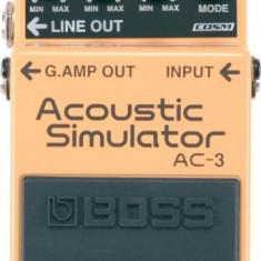 BOSS AC-3 Acoustic Simulator - Efect Chitara