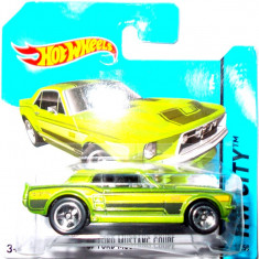 HOT WHEELS -REGULAR-SCARA 1/64-FORD MUSTANG COUPE '67- ++2501 LICITATII !! - Macheta auto