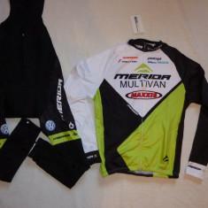 Echipament ciclism complet iarna toamna merida multivan set cu thermal fleece