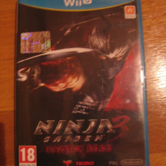 JOC WII U NINJA GAIDEN 3 RAZOR's EDGE ORIGINAL / STOC REAL in Bucuresti / by DARK WADDER - Jocuri WII U, Actiune, 18+, Single player