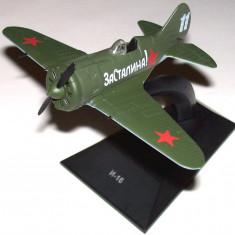Macheta avion I-16 - Colectia avioane legendare din Rusia - scara 1:72 - Macheta Aeromodel