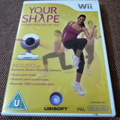 Your Shape (include camera), pentru Wii, original, alte sute de jocuri - Jocuri WII Ubisoft, Sporturi, 3+, Single player