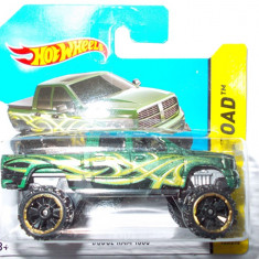 HOT WHEELS -REGULAR-SCARA 1/64-DODGE RAM 1500- ++2501 LICITATII !! - Macheta auto