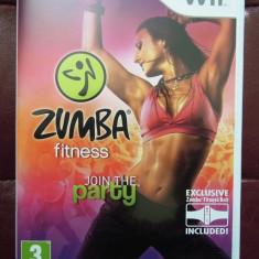 Zumba Fitness (include centura), pentru Wii, original, alte sute de jocuri - Jocuri WII Altele, Sporturi, 3+, Single player
