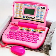 Laptop educativ bilingv romana-engleza, primul laptop, Laptop copii 120 functii, computer pentru copii Primul meu calculator, Laptop jucarie 120 funct