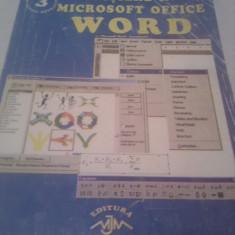 INITIERE IN MICROSOFT OFFICE WORD - Carte Limbaje de programare