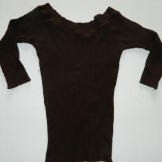 Bluza, bluzita fetite, mulata, 7-9 ani, eleganta. COMANDA MINIMA 30 LEI!, Culoare: Maro, Fete